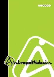 AntropoWebzin 3/2012 - Západočeská univerzita v Plzni