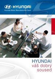 Informační brožura o projektu - Hyundai váš dobrý soused