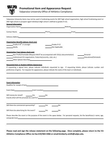 Kc Donation Request Form Pdf  StmarysavocaOrg