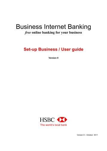 business internet banking secondary user form sole hsbc rh yumpu com hsbc evolve user guide hsbc online banking user guide