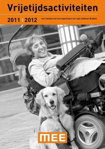 2011 | 2012 voor mensen met een beperking in de regio Zuidoost ...