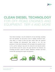 p1 clean diesel technology - Association of Equipment Manufacturers