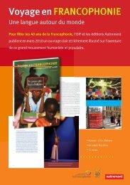 commander le livre - Organisation internationale de la Francophonie