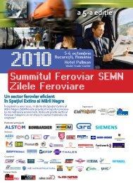 Summitul Feroviar SEMN Zilele Feroviare - Club Feroviar
