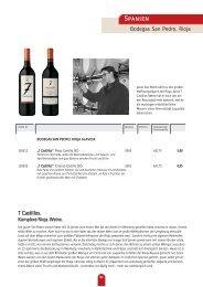 Bodegas San Pedro, Rioja 7 Castillos. - TrinkFest