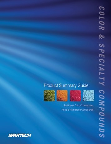 Click to view Product Summary Guide - Spartech Corporation