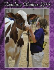 View the 2014 Leading Ladies Publication here! - Red & White Dairy ...
