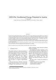GEO-Pot: Geothermal Energy Potential in Austria - Kivi Niria