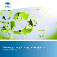 Read the EWEA 2011 sustainability report - European Wind Energy ...