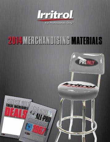 marketing support materials catalog - Irritrol