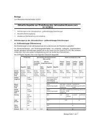 Aktuelle Aspekte zur Erstellung des ... - Ott & Partner