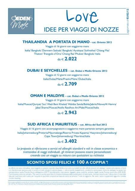 Offerte Viaggi di Nozze Oman e Maldive