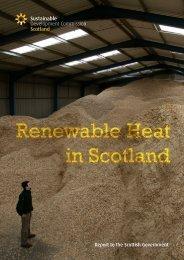 Renewable Heat in Scotland - Sustainable Development Commission