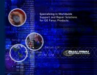 Specializing in Worldwide Support and Repair Solutions for GE ...