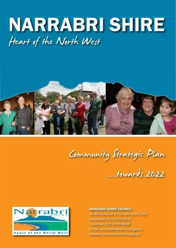 Narrabri Shire Community Strategic Plan 2012