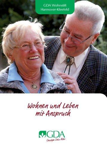 Einzug leicht gemacht! - GDA Gemeinschaft Deutsche Altenhilfe ...