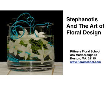 Stephanotis ebookpdf.. - Rittners School of Floral Design