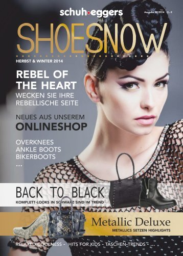 shoesnow - Magazin Herbst/Winter 2014