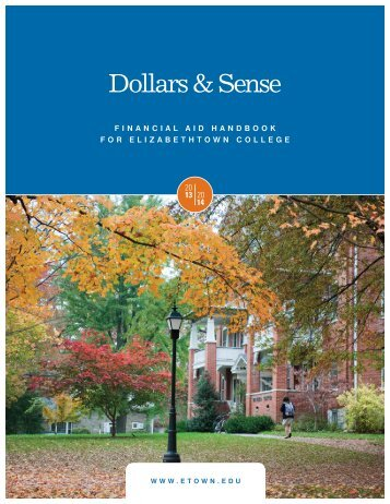 Financial Aid Handbook - Elizabethtown College