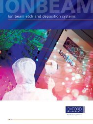 Ion beam etch and deposition systems