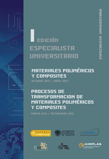 materiales poliméricos y composites - Aimplas