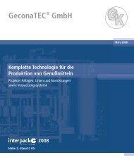 GeconaTEC ® GmbH 2008 - bei Geconatec