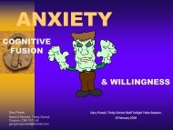 anxiety - Coppin State University