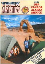 Download 1991 brochure pdf (6.8 MB) - Trek America