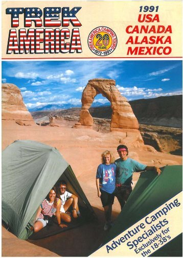 Download 1991 brochure pdf (6.8 MB) - Trek America