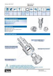 FF Quick Couplings - JH Bennett & Company, Inc