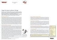 Tipps für einen sicheren Skitag - Alpen Plus