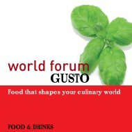 World Forum Gusto