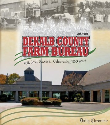 DeKalb County Farm Bureau: 100 Years of Progress (The ... - DAAHA