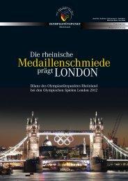 Olympiabilanz London 2012 - OSP Rheinland