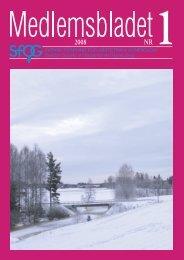 Medlemsblad 1 2008 - SFOG