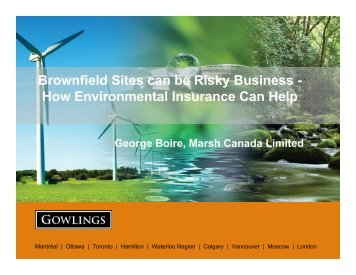 View Presentation - Gowlings