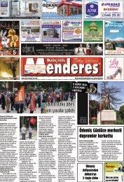 15 Mayıs tarihli Küçükmenderes gazetesi