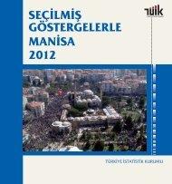 MANİSA - Türkiye İstatistik Kurumu