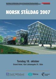18. oktober 2007 - Norsk Stålforbund