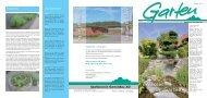 Die Gartenzeitung vom Frühling 2011 - Spaltenstein Gartenbau AG