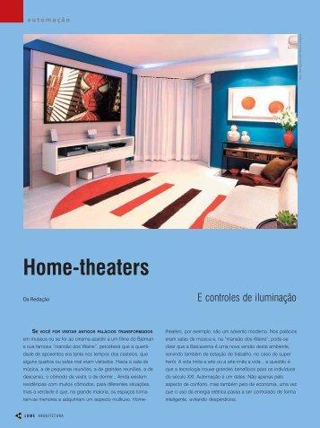 Home-theaters - Lume Arquitetura