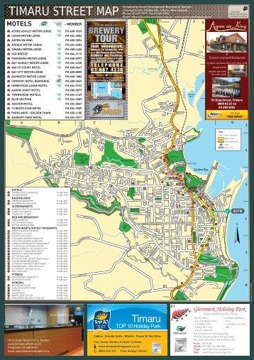 timaru street map