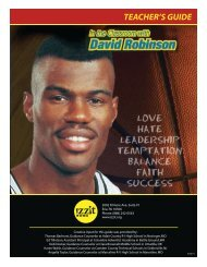 In the Classroom with David Robinson - Izzit.org