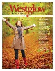 Fall 2009 Newsletter - Westglow Spa