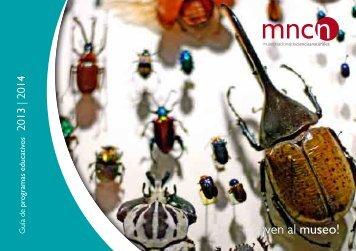 guía 2012-2013 - Museo Nacional de Ciencias Naturales - Consejo ...