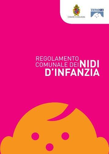 Regolamento comunale dei nidi d'infanzia - Comune di Bologna