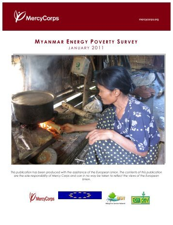 Myanmar Energy Poverty Survey - Mercy Corps