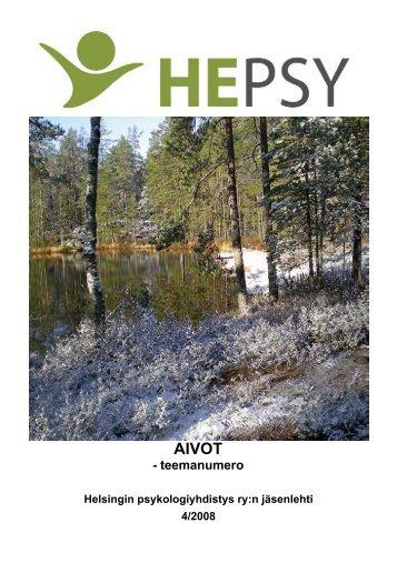 AIVOT - Helsingin psykologiyhdistys
