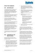 EXECUTIVE SUMMARY - Peabody Energy - Page 2
