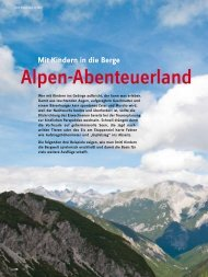 Mit Kindern in die Berge - Deutscher Alpenverein
